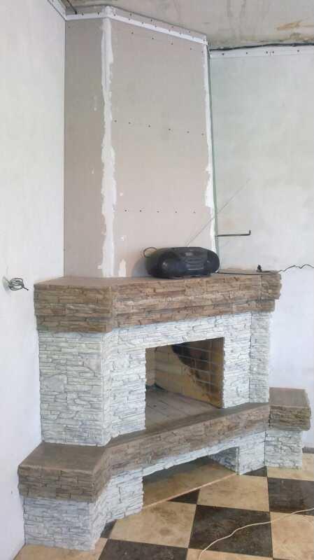 Угловой камин недорого
